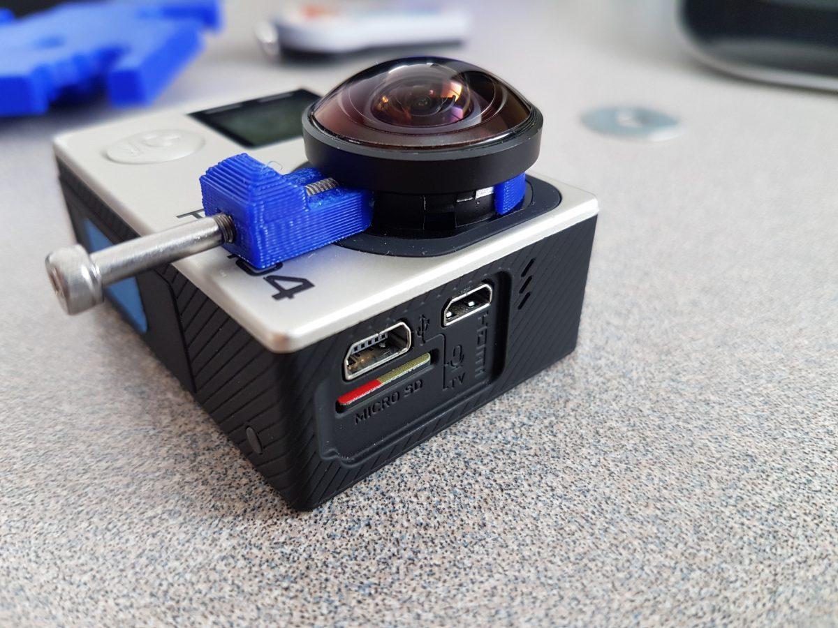 GoPro Hero 4 Lens Holder