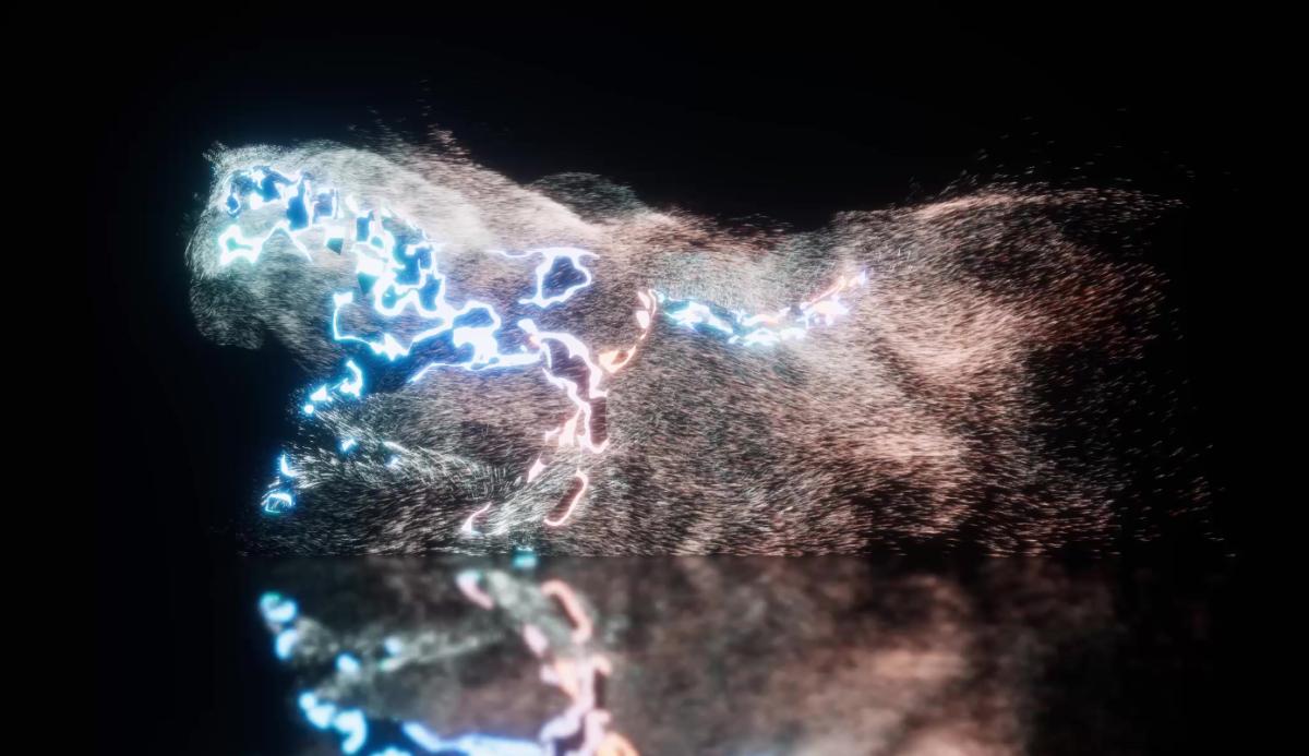 Skinned mesh renderer VFX